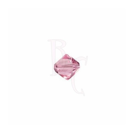 Bicono swarovski 5328 3MM Light rose
