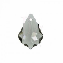 Pendant Baroque 6090 22x15 MM Black Diamond