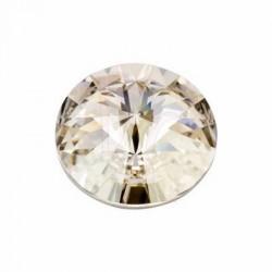 Rivoli swarovski 1122 18 MM Crystal silver shade