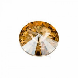 Rivoli swarovski 1122 16 MM Crystal Golden Shadow