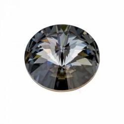 Rivoli swarovski 1122 18 MM Crystal silver night
