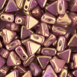 Kheops® par Puca® 6 mm Opaque Mix Violet - Gold Ceramic Look 10 gr