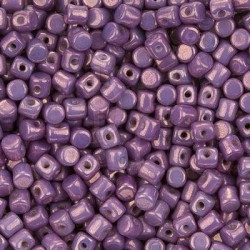Minos® par Puca® 2,5x3 mm  Opaque Mix Amethyst Gold Ceramic Look 5 gr
