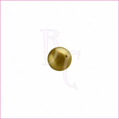 Perla swarovski 5810 4MM Antique Brass