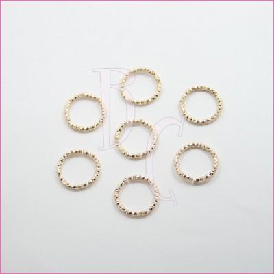 Catena tonda diamantata 24 mm oro