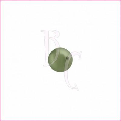 Perla swarovski 5810 6MM Powder Green