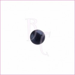 Perla swarovski 5810 6MM Night Blue