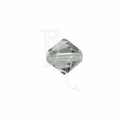Bicono swarovski 5328 4MM Black Diamond