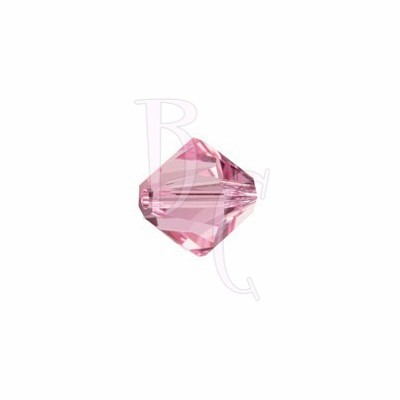 Bicono swarovski 5328 4MM Light Rose