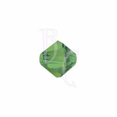 Bicono swarovski 5328 4MM Palace Green Opal