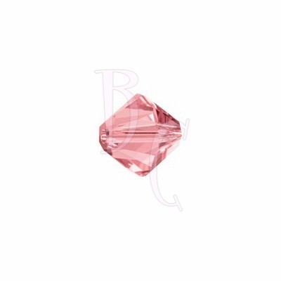 Bicono swarovski 5328 4MM Rose