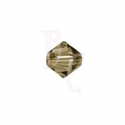Bicono swarovski 5328 4MM Smoky Quartz