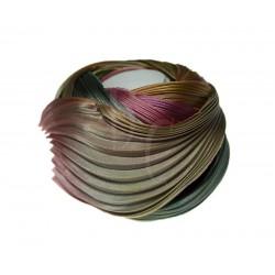 Seta Shibori color Ecru Borealis x15cm