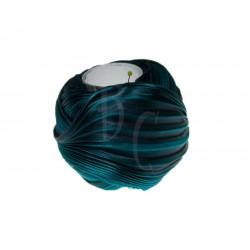 Seta Shibori color Midnight teal x15cm