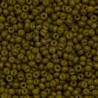 Rocaille 8/0 4491 Duracoat Opaque Spanish Olive 10 gr
