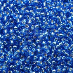 Rocaille 8/0 0019 Silver Lined Sapphire 250 gr