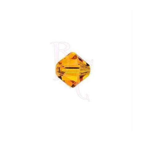 Bicono swarovski 5328 4MM Tangerine