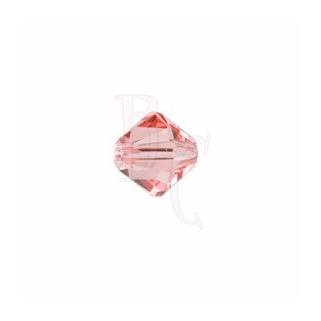 Bicono swarovski 5328 4MM Rose Peach