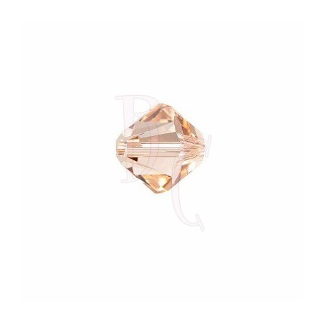 Bicono swarovski 5328 4MM Light Peach