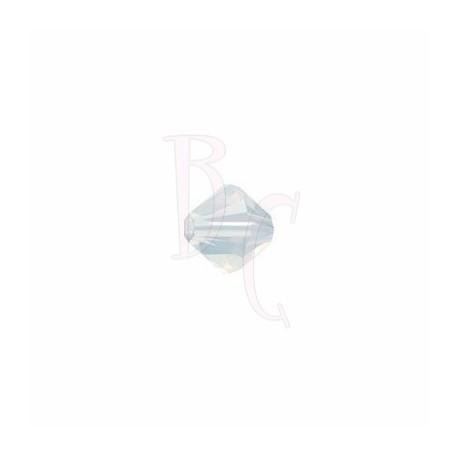Bicono swarovski 5328 3MM White Opal