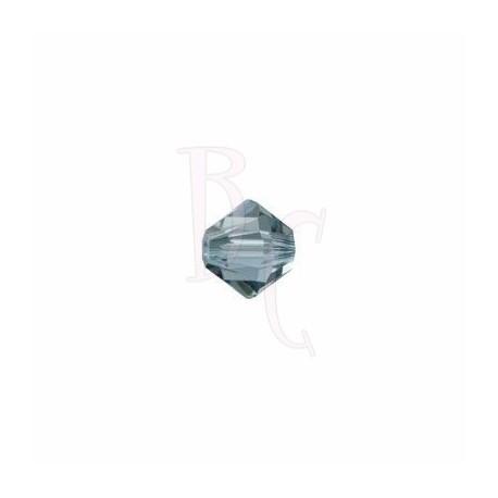 Bicono swarovski 5328 3MM Indian sapphire - 50 pezzi