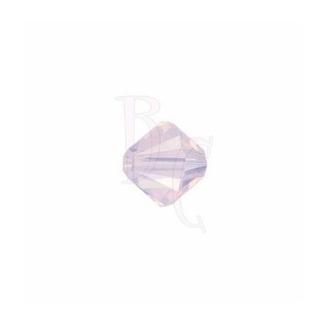 Bicono swarovski 5328 3MM Rose Water Opal