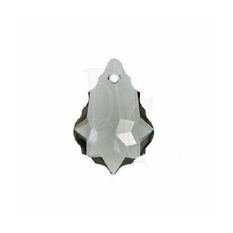 Pendant Baroque 6090 22x15 MM Black Diamond