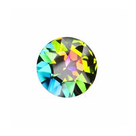 Fancy Round Stone 1201 27 MM Crystal Vitrail Medium