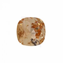 Cushion Cut Fancy Stone 4470 12 MM Light Peach