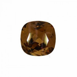 Cushion Cut Fancy Stone 4470 12 MM Smoked Topaz