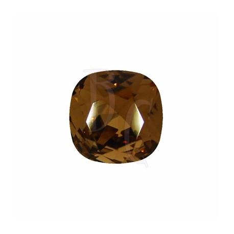 Cushion Cut Fancy Stone 4470 12 MM Smoked Topaz