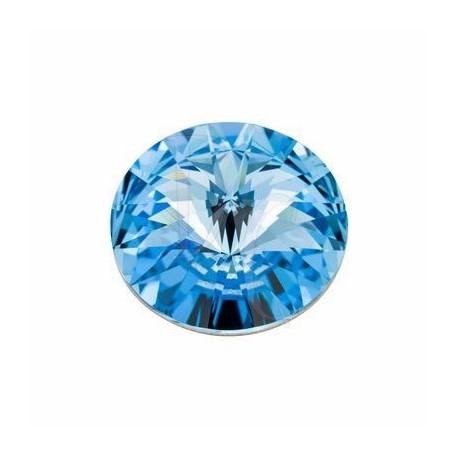 Rivoli Round Stone 1122 18 MM Aquamarine