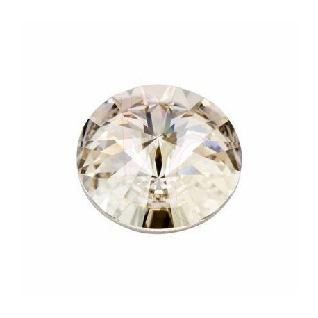 Rivoli Round Stone 1122 18 MM Crystal silver shade