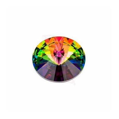 Rivoli Round Stone 1122 16 MM Crystal Vitrail Medium
