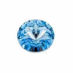 Rivoli Round Stone 1122 16 MM Aquamarine