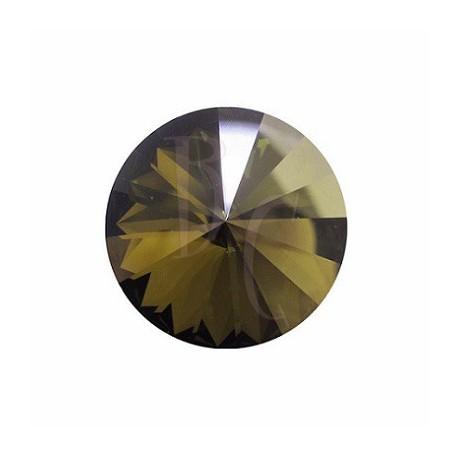 Rivoli Round Stone 1122 18 MM Crystal Bronze Shade