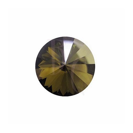 Rivoli Round Stone 1122 16 MM Crystal Bronze Shade