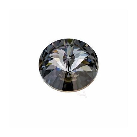 Rivoli Round Stone 1122 16 MM Crystal Silver Night