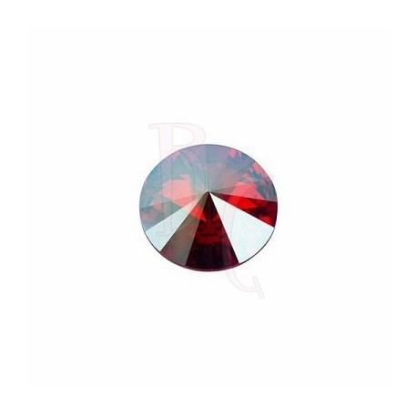 Rivoli Round Stone 1122 14 MM Crystal Red Magma