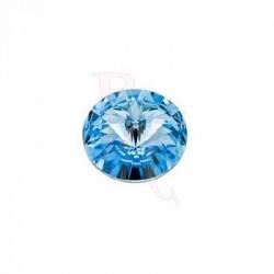 Rivoli Round Stone 1122 14 MM Aquamarine