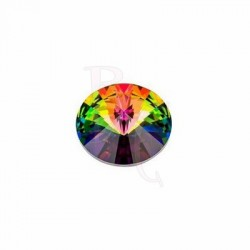 Rivoli Round Stone 1122 14 MM Crystal Vitrail Medium