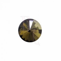 Rivoli Round Stone 1122 14 MM Crystal Bronze Shade