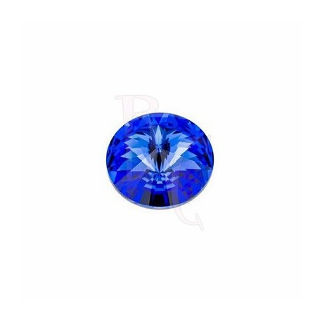 Rivoli Round Stone 1122 14 MM Sapphire