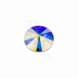 Rivoli Round Stone 1122 14 MM Crystal Aurora Boreale