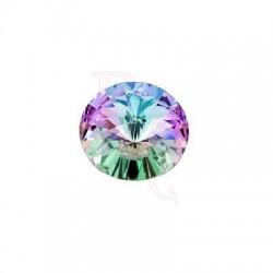 Rivoli Round Stone 1122 14 MM Crystal Vitrail Light