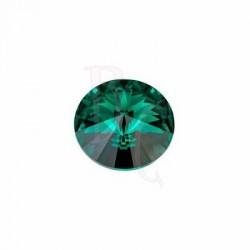 Rivoli Round Stone 1122 14 MM Emerald