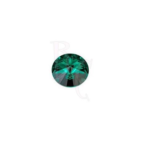 Rivoli Round Stone 1122 12 MM Emerald