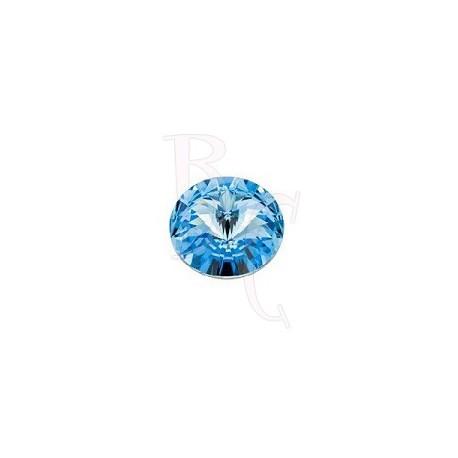 Rivoli Round Stone 1122 12 MM Aquamarine