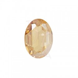 Large Oval Fancy Stone 4127 30x22 mm Crystal Golden Shadow