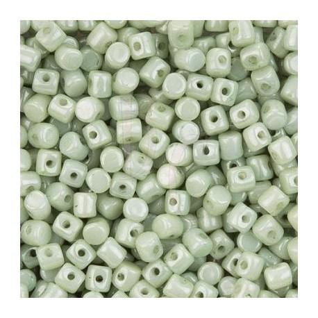 Minos® par Puca® 2,5x5 mm Opaque Light Green Ceramic Look 5 gr